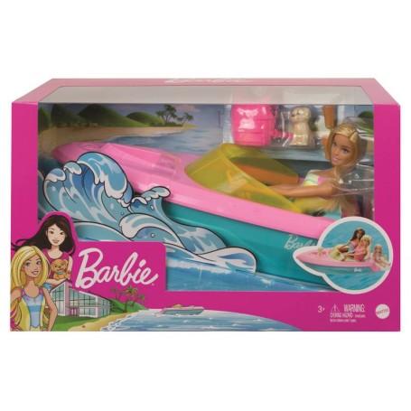 Mattel GRG30 - Barbie - Motoscafo con Bambola