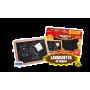 Rstoys 8299 - Lavagnetta In Legno 30x20 cm. con Gessetti Colorati e Cancellino
