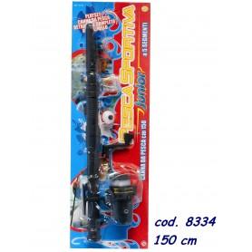 Rstoys 8334 - Canna Da Pesca Telescopica Sportiva Junior