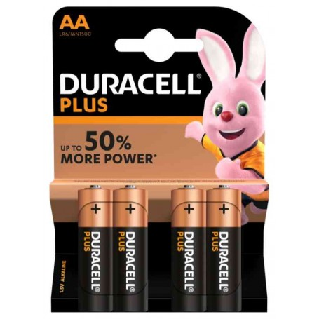Duracell 116 - Blister 4 Pile Stilo AA 1,5V