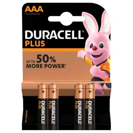 Duracell 130 - Blister 4 Batterie Mini Stilo AAA