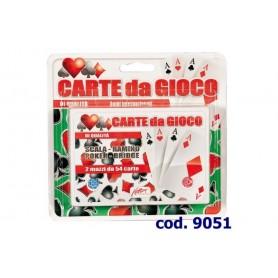 Rstoys 9051 - Carte da Gioco Ramino 2 Mazzi in Blister