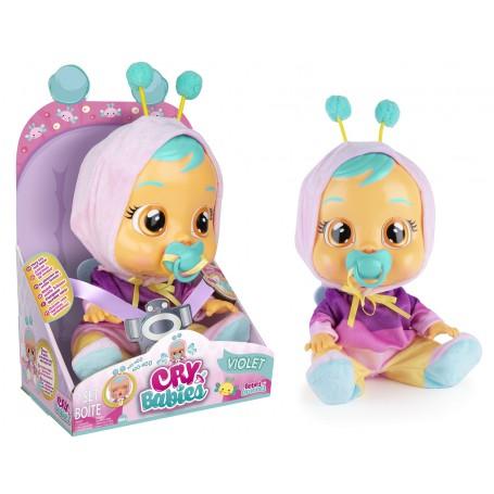 Imc Toys 81826 - Cry Babies - Violet