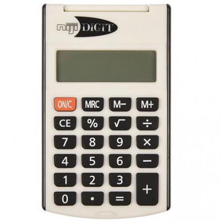 Lebez 61625 - Calcolatrice 8 Cifre 6x10 cm