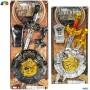 Ginmar 68902 - Blister Spade e Scudo Medievale
