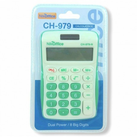Ans 813 - Calcolatrice 8 Cifre Blister