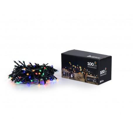 Fratelli Pesce 8210 - Catena 100 Led Interno Esterno Multicolor