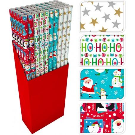 Koopman 101670 - Carta Regalo Natale 100 cm x 5 Mt