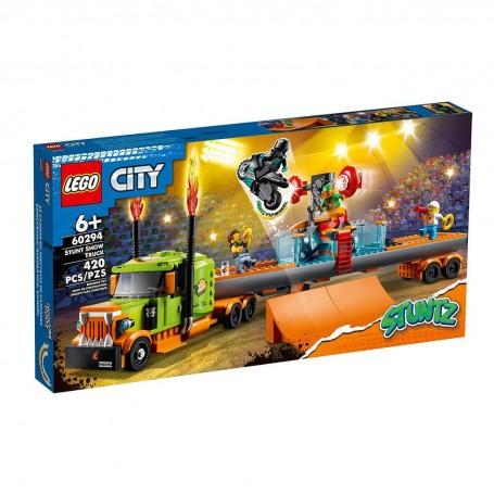 Lego 60294 - City - Truck dello Stunt Show