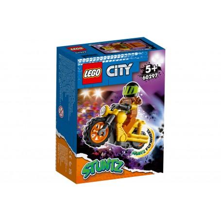 Lego 60297 - City - Stunt Bike da Demolizione