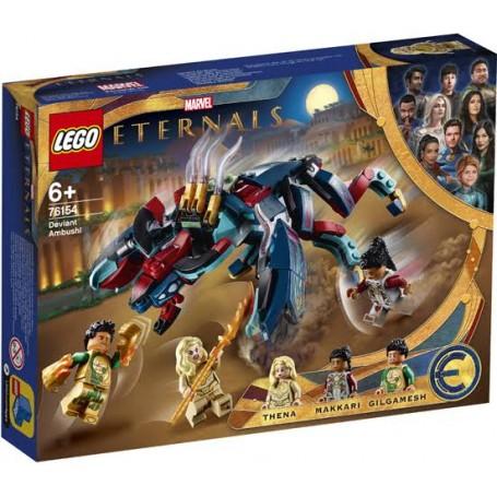 Lego 76154 - Marvel Super Heroes - L'imboscata dei Deviant