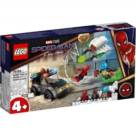 Lego 76184 - Marvel Super Heroes - Spiderman e l'Attacco al Drone di Mysterio