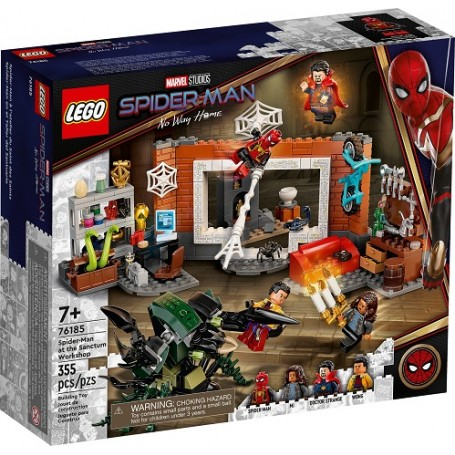 Lego 76185 - Marvel Super Heroes - La Resa dei Conti tra Spiderman e Sandman