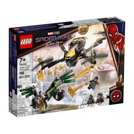 Lego 76195 - Marvel Super Heroes - Duello con il Drone di Spiderman