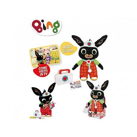 Giochi Preziosi BNG37000 - Bing - Peluche Bing Dottore 33 cm