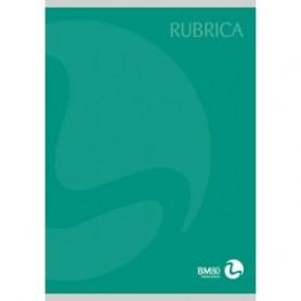 Bm 4221 - Quaderno Rubricato F.to A5 Conf.10 pz.