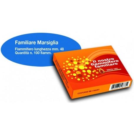 Sirfa 941 - Confezione 50 Scatole da 100 Fiammiferi Familiari