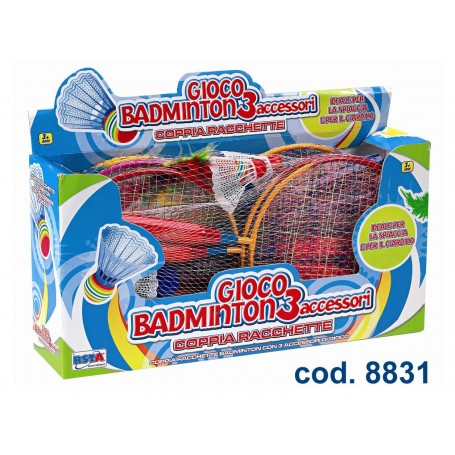 Rstoys 8831 - Gioco Badminton 42 cm
