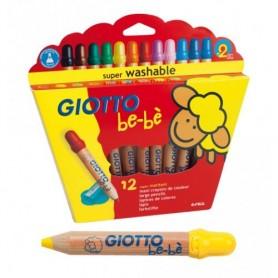 Fila 466500 - Giotto BeBè Super Matitoni Conf. 12 pz.
