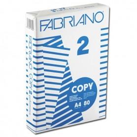 Fabriano 1297 - Carta Fotocopie Copy 2 A4 500 Fogli 80 gr Alta Prestazione