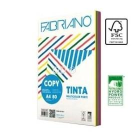 Fabriano 62521297 - Carta Fotocopie A4 Colori Tenui 80g 250 Fogli