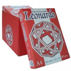 Fabriano 5720 - Risme Carta Fotocopie Leonardo 500 Fogli A4 80 gr