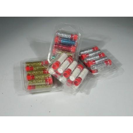 Tabor V50B - Brillantina Colori Assortiti Cf.10 tubetti