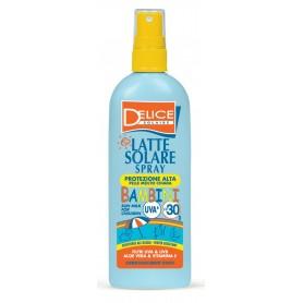 Delice 8342 - Latte Solare Spray UVA Protezione Alta Per Bambini SPF30 150 ml