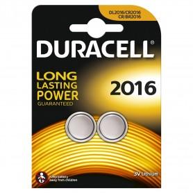 Duracell 2016 - Blister 2 Pile Bottone 3V 2016