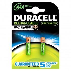 Duracell 20381 - Blister 2 Pile Ministilo AAA Ricaricabili