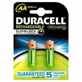 Duracell 5697 - Blister 2 Pile Stilo AA Ricaricabili