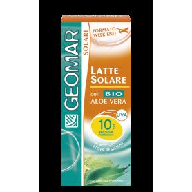 Geomar 115870 - Latte Solare FP 10 Formato Week-End 75 ml