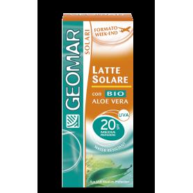 Geomar 115880 - Latte Solare FP 20 Formato Week-End 75 ml