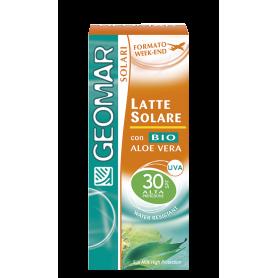Geomar 115890 - Latte Solare FP 30 Formato Week-End 75 ml