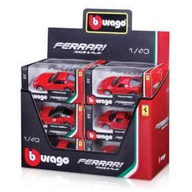 Goliath 90599 - Bburago Scuderia Ferrari Modellini Race & Play Scala 1:43