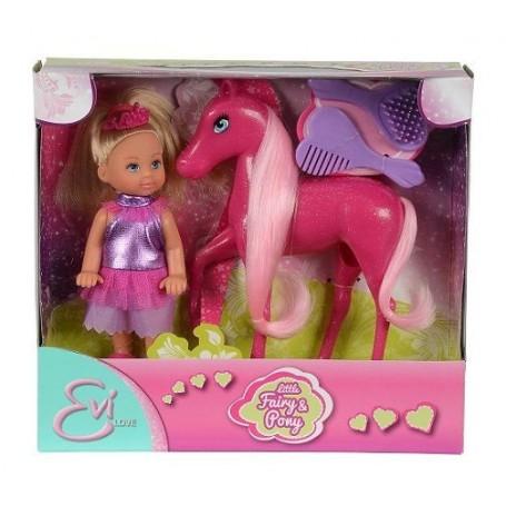 Simba 58667 - Evi Love - Evi Piccola Fata con Il Pony