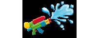 Pistole e Mitra ad Acqua